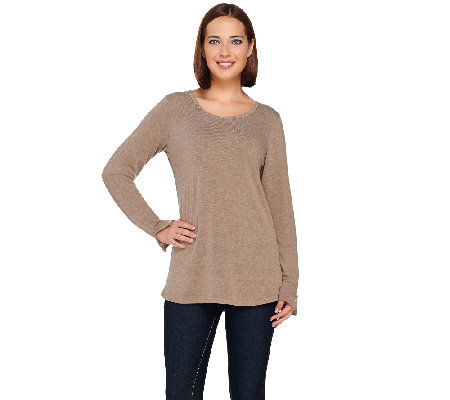 Kelly by Clinton Kelly Tee with Baby Chain Detail