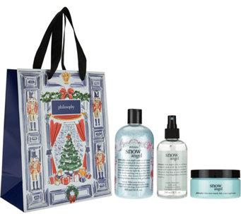 philosophy sparkling snow layering trio with gift bag - A285962