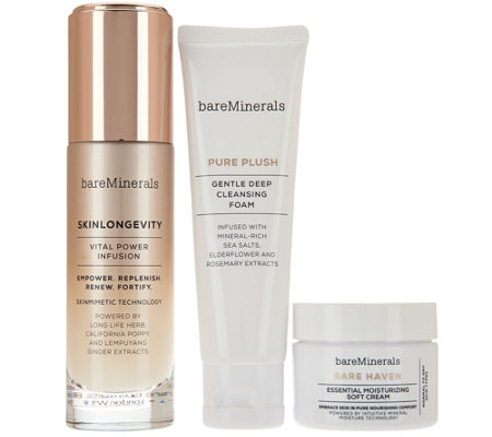 bareMinerals Happy Glow Lucky 3-pc Skincare Collection