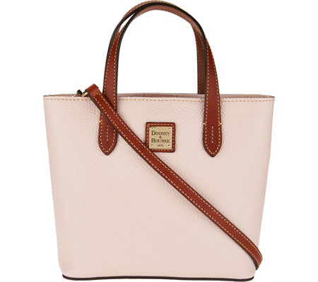 Dooney & Bourke Pebble Leather Mini Waverly Crossbody