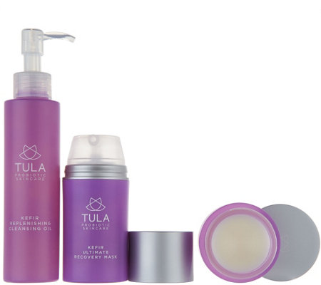 TULA by Dr. Raj Kefir Probiotic Hydrating 3-Piece Kit Auto-Delivery