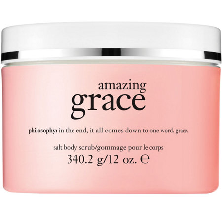 philosophy salt body scrub, 12 oz