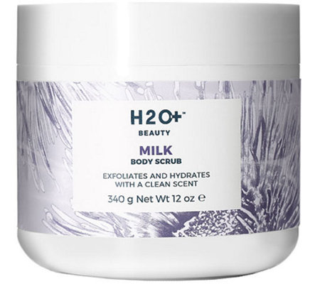 H2O+ Beauty Milk Body Scrub, 12 oz
