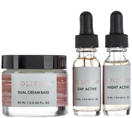 Volition Antiaging Day & Night Customized SkinCare Trio