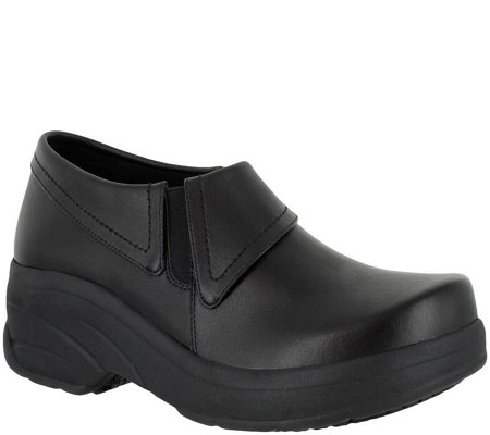 Easy Works by Easy Street Slip-on Work Shoes -Assist