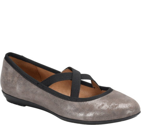 Sofft Leather Flats - Barris
