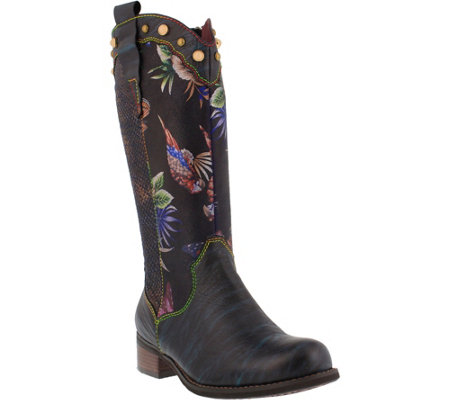 Spring Step L'Artiste Leather Boots -  Tiziana