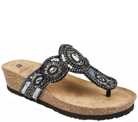 White Mountain Thong Sandals - Blast