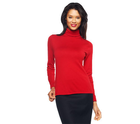 Linea by Louis Dell'Olio Posh Knit Long Sleeve Turtleneck