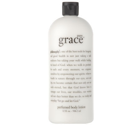 philosophy super-size pure grace body lotion Auto-Delivery
