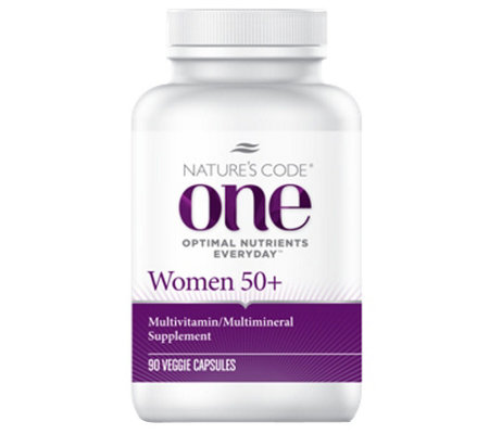 Nature's Code ONE 90 Day Once Daily Women's Multivitamin Capsules