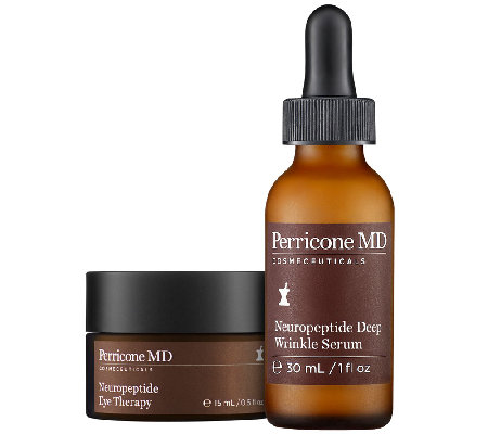 Perricone Neuropeptide Deep Wrinkle Serum and Eye Therapy Duo