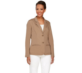 Liz Claiborne New York Blazer with Pockets - A263463