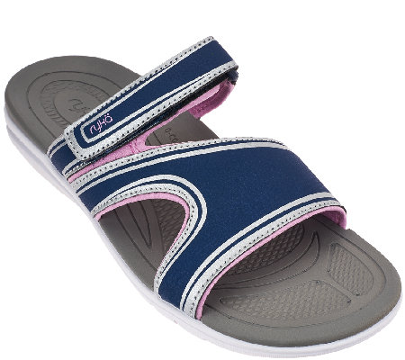 Ryka Sport Slide Sandals with CSS Technology - Shuffle
