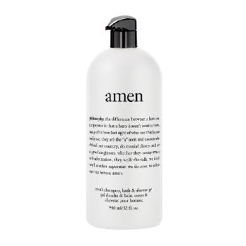 philosophy 32 oz amen men's shower gel