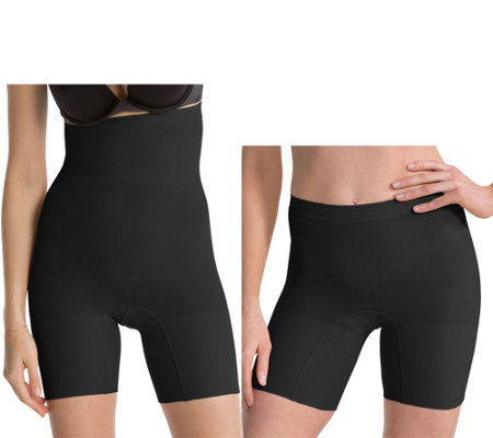 Spanx Higher Power & Power Shaping Short Set of 2