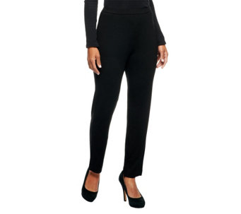 """As Is"" George Simonton Opulent Jersey Pull-On Knit Pants - A277763"