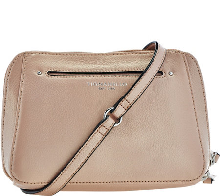 Tignanello Pebble Leather RFID Crossbody and Belt Bag