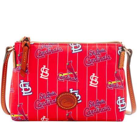 Dooney & Bourke MLB Nylon Cardinals Crossbody Pouchette