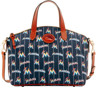 Dooney & Bourke MLB Nylon Marlins Small Satchel - A281763