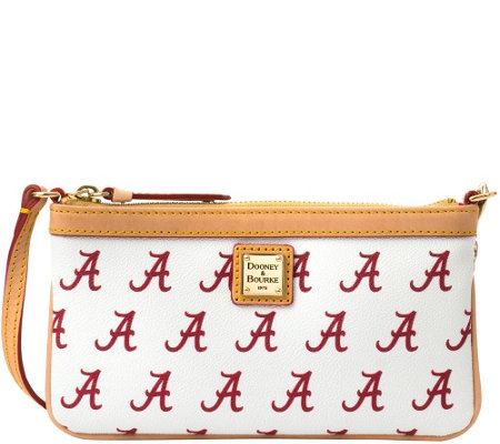 Dooney & Bourke NCAA University of Alabama Slim Wristlet