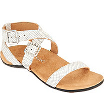 Vionic Orthotic Leather Sandals - Elnora - A288763