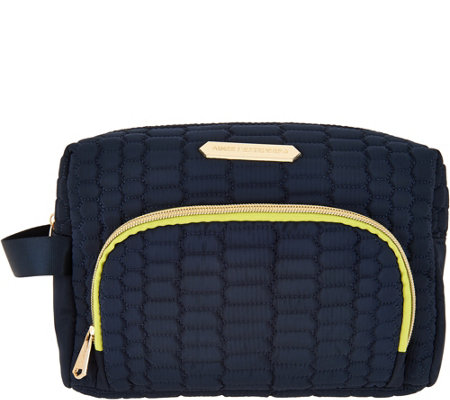 Aimee Kestenberg Nylon Large Zip Around Cosmetic Case- Isabela