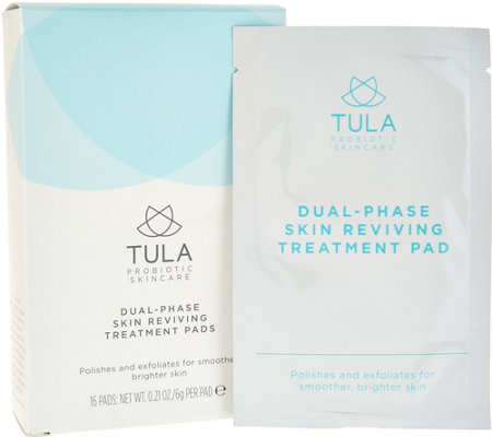 TULA by Dr. Raj Dual-Phase Skin Reviving Treatment Pads