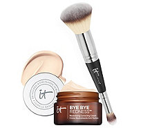 IT Cosmetics Bye Bye Redness Anti-Aging Concealing Cream w/ Brush - A303963