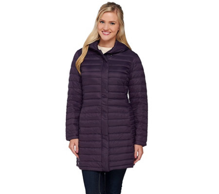 """As Is"" Liz Claiborne New York Packable Puffer Coat"