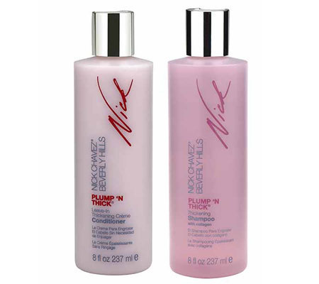 Nick Chavez Plump 'N Thick Shampoo and Conditioner Duo