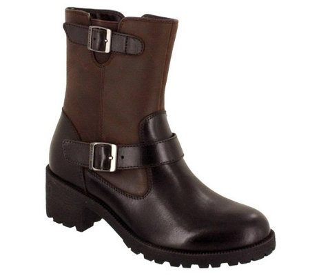 Eastland Belmont Leather Mid-Calf Boots