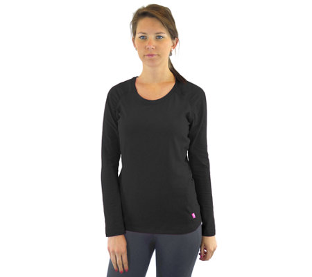 Ryka Knit Essential Long-Sleeved T-Shirt