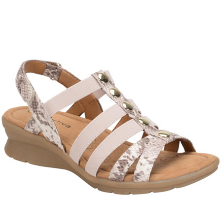 Comfortiva by Softspots Casual Wedge Sandals -Kalista