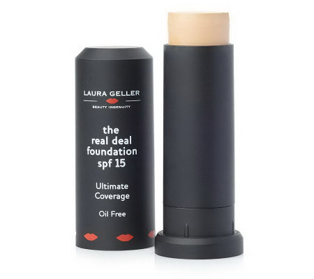 Laura Geller Real Deal Foundation Stick with SPF 15