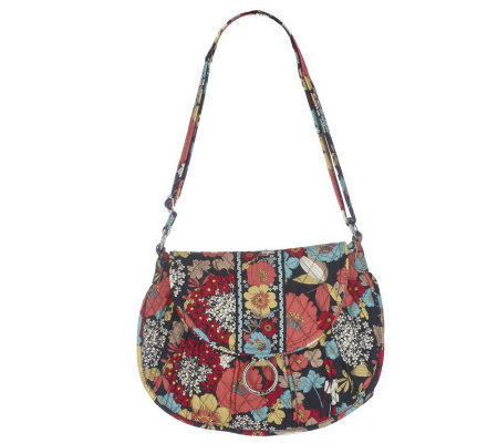 Vera Bradley Signature Print Saddle Up Shoulder Bag