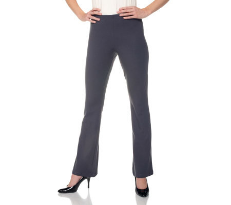 Women with Control Regular Pull-on Low Bell Pants