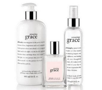 philosophy silky soft grace fragrance layering trio - A238264
