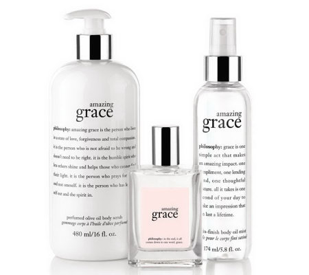 philosophy silky soft grace fragrance layering trio