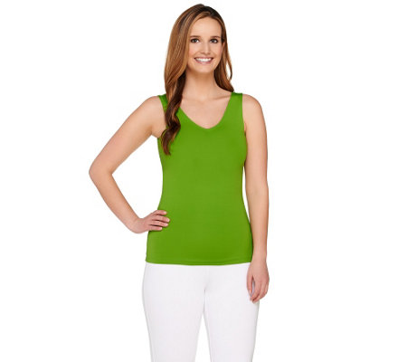 Susan Graver Essentials V-Neck Smoothing Tank