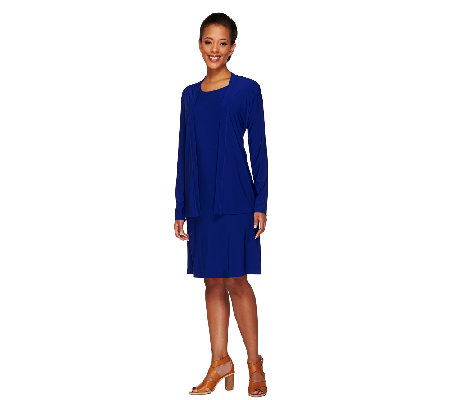 Attitudes by Renee Petite 4-Piece Jersey Knit Wardrobe Set