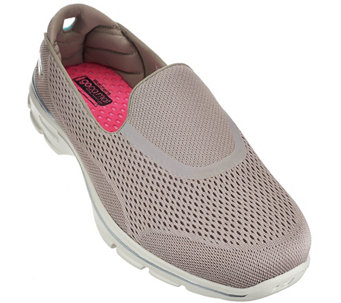 Skechers GOWalk 3 Mesh Slip-on Sneakers - Strike - A266364