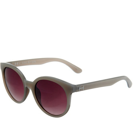 H by Halston Round Framed Sunglasses