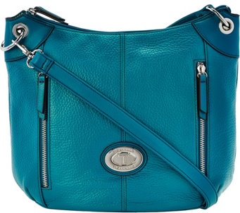 Tignanello Large Grain Pebble Leather Crossbody Bag - A279964