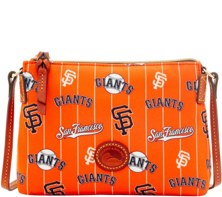 Dooney & Bourke MLB Nylon Giants Crossbody Pouchette