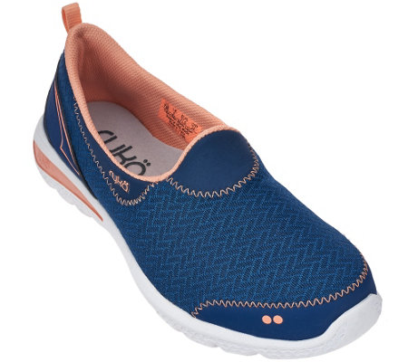 """As Is"" Ryka Slip-on Sneakers with CSS Technology - Henley"