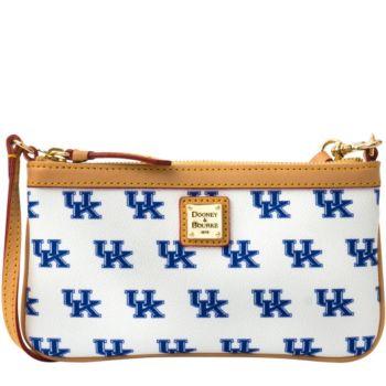 Dooney & Bourke NCAA University of Kentucky Slim Wristlet