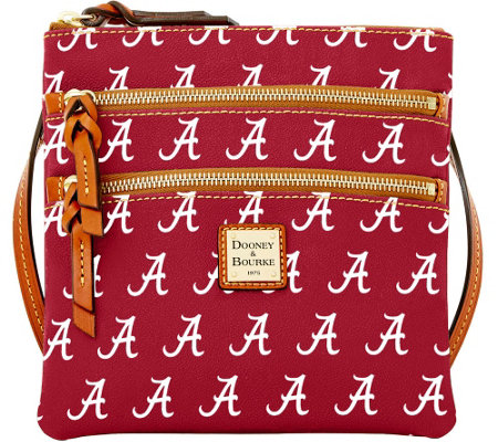 Dooney & Bourke NCAA University of Alabama Zip Crossbody
