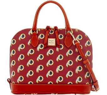 Dooney & Bourke NFL Redskins Zip Zip Satchel - A285764