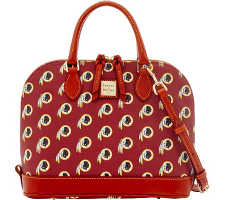 Dooney & Bourke NFL Redskins Zip Zip Satchel